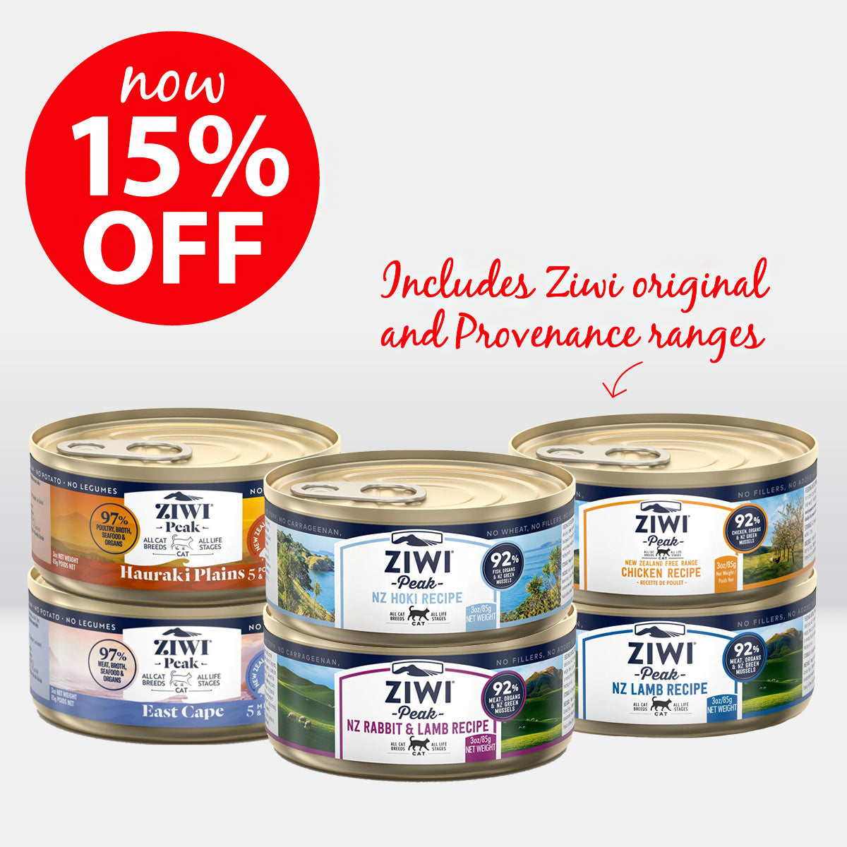 Ziwi Peak Cat Can Food ON SALE NOW