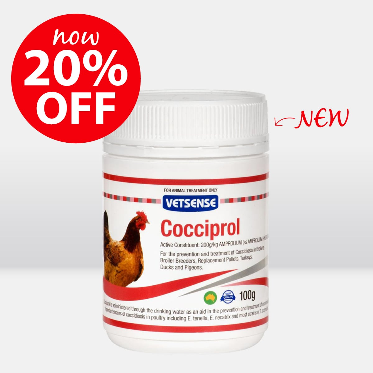 Cocciprol ON SALE