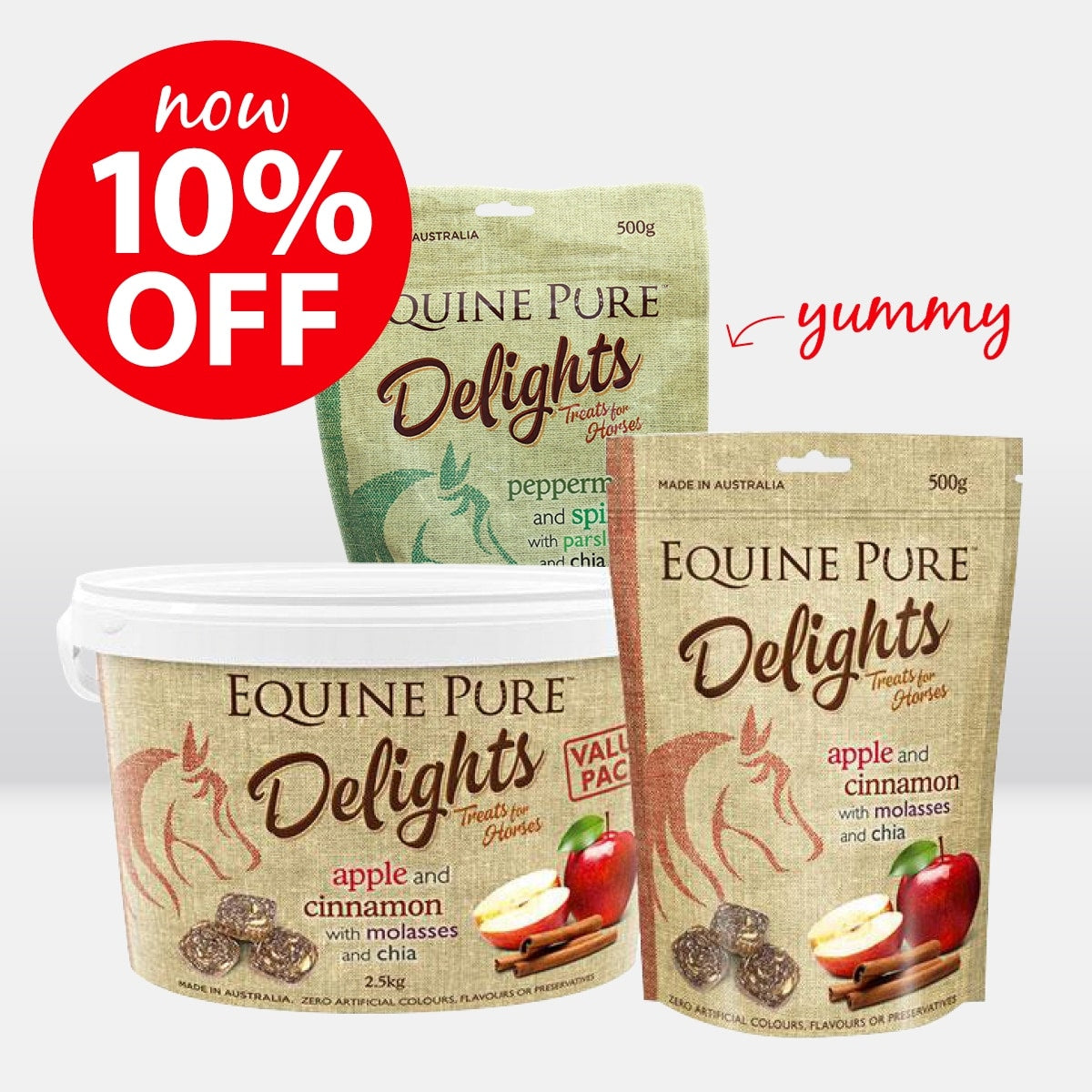 Equine Pure Delights ON SALE