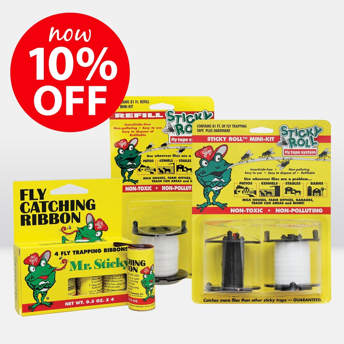 Sticky Roll Fly Catching Range ON SALE