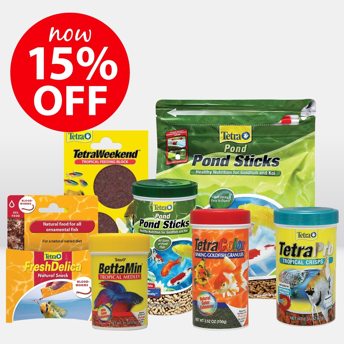 Tetra Fish Food Range ON SALE