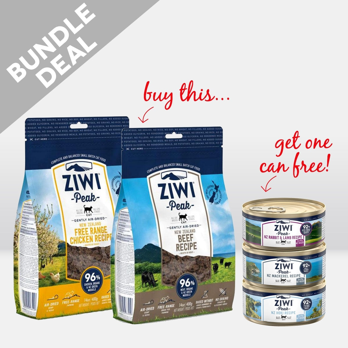 Ziwi peak for Cats DEAL