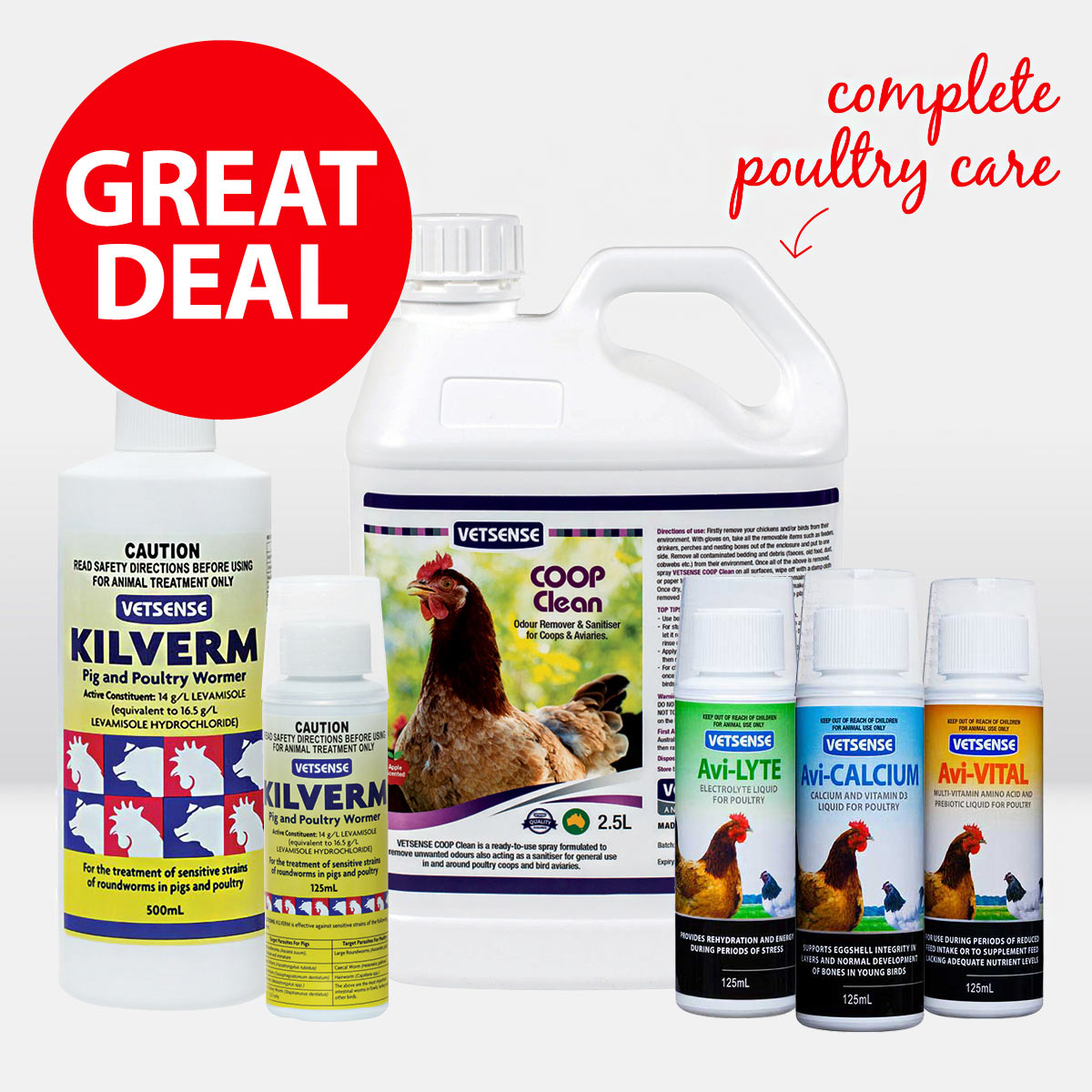 Vetsense Poultry Care ON SALE