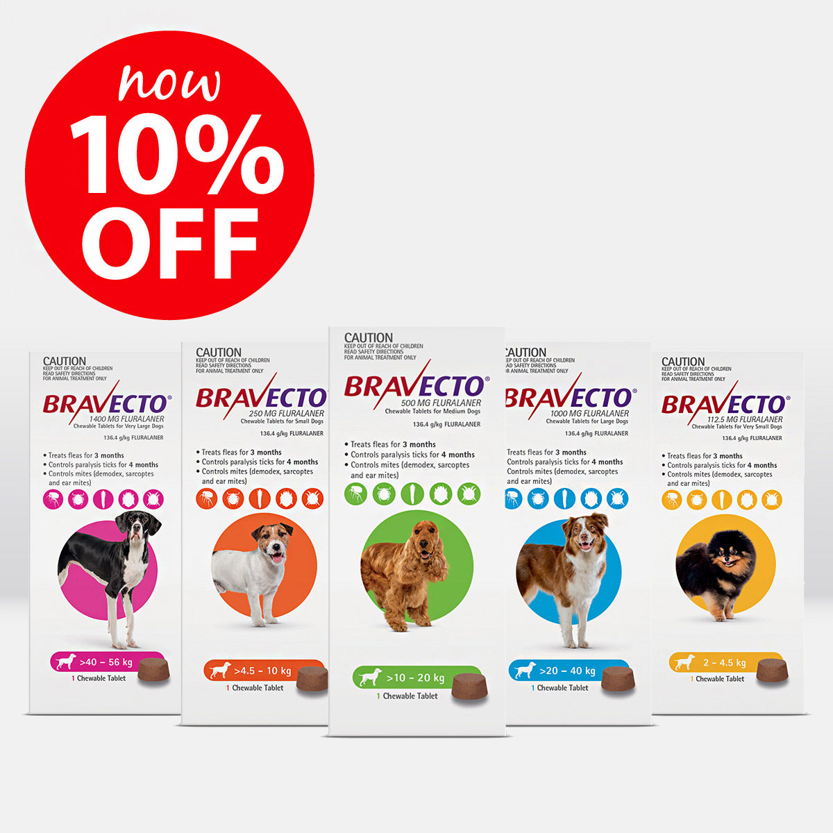 Bravecto Chews for Dogs ON SALE