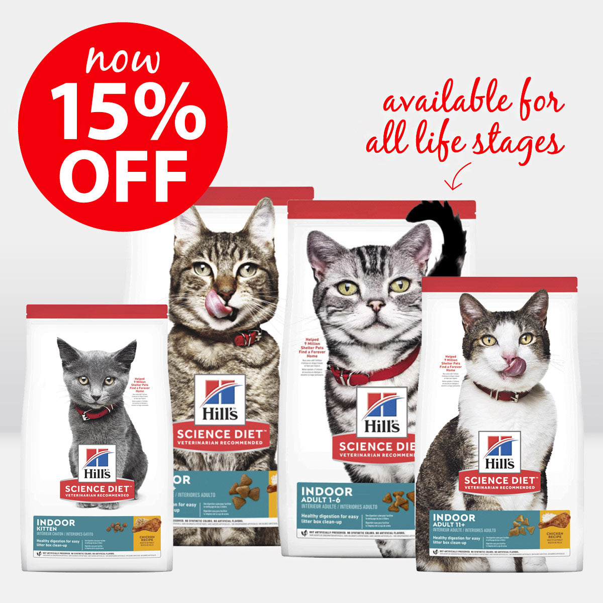 Hills Indoor Cat ON SALE
