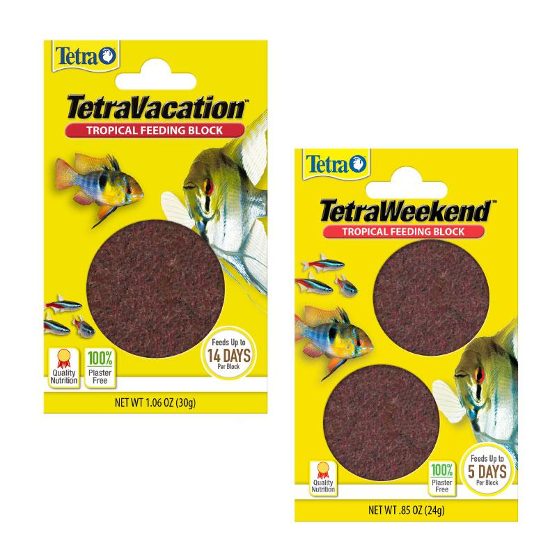 Tetra Weekend and Vacation Feeding Blocks for Tropical Fish