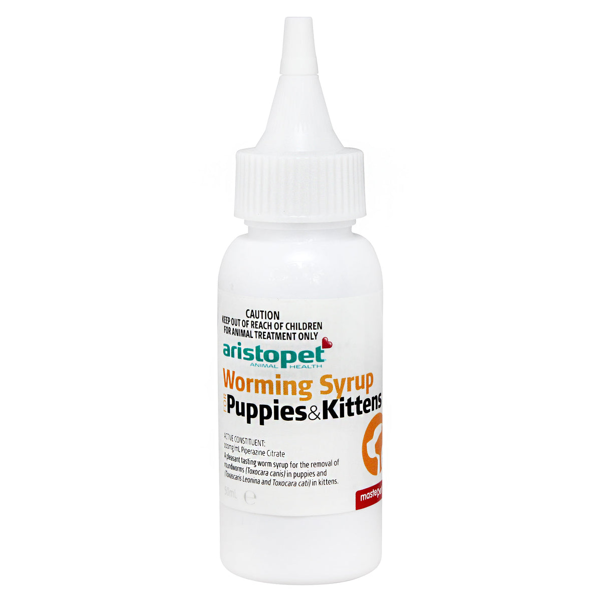 Aristopet Worming Syrup for Puppies & Kittens  50mL