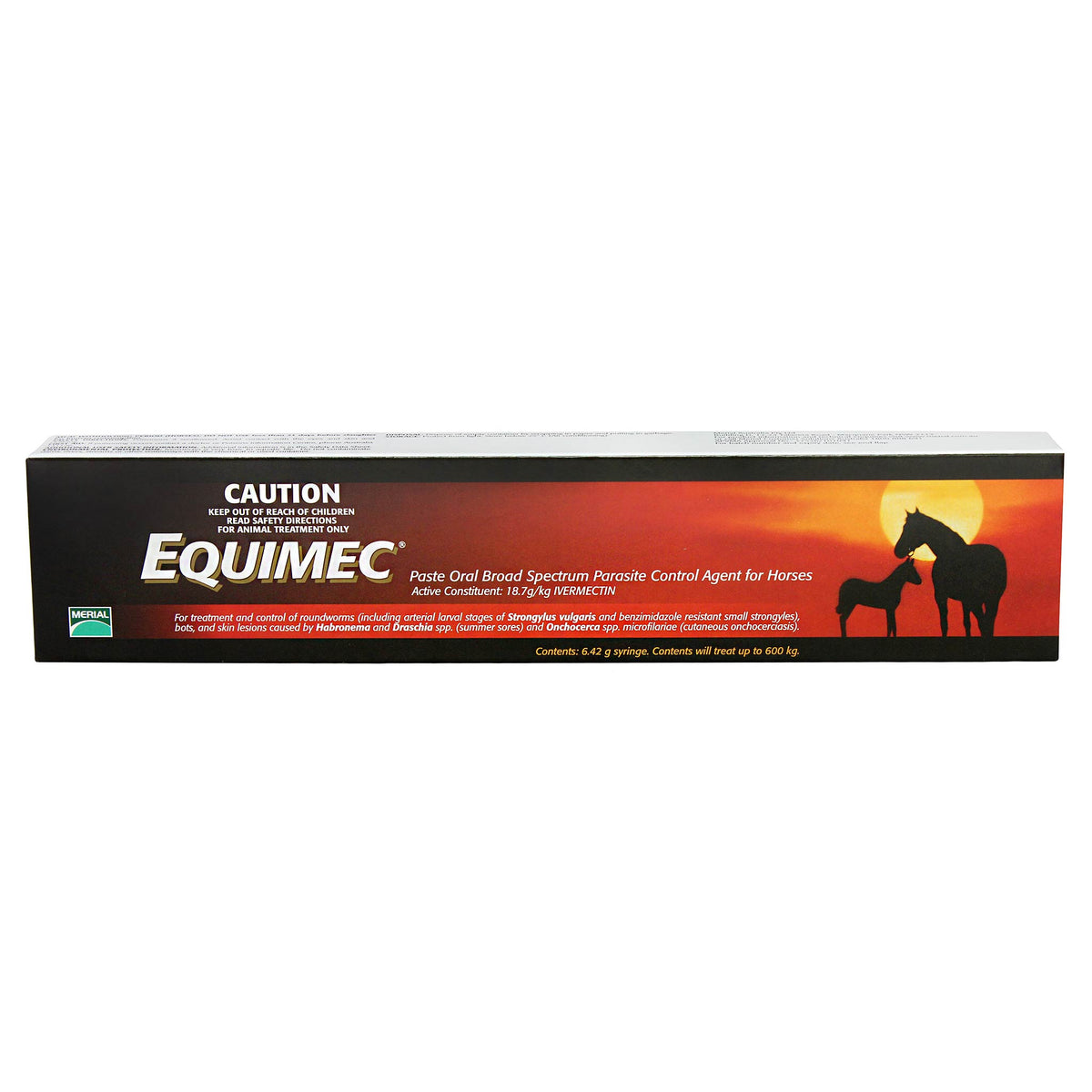 Equimec Broad Spectrum Parasite Control Paste for Horses 6.42g