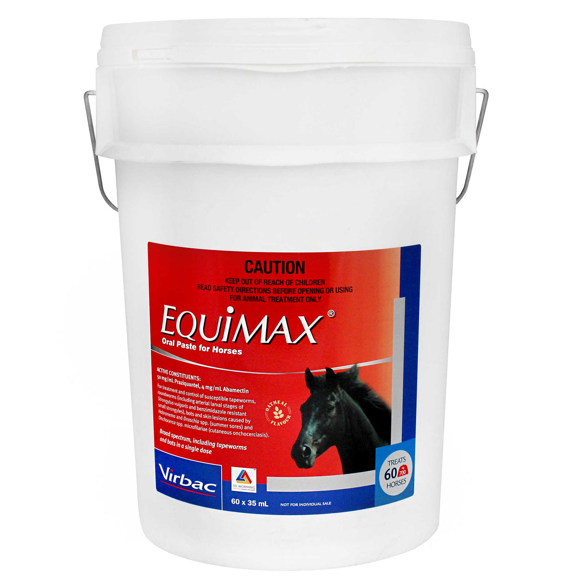 Equimax Oral Paste for Horses - Stable Pail 60 syringes