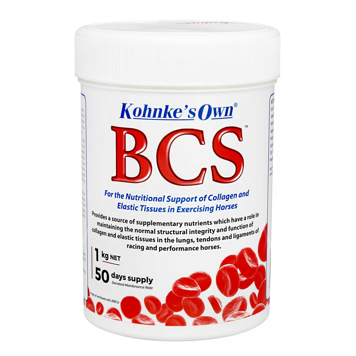 Kohnke's Own BCS Collagen and Elastic Tissue Support for Horses
