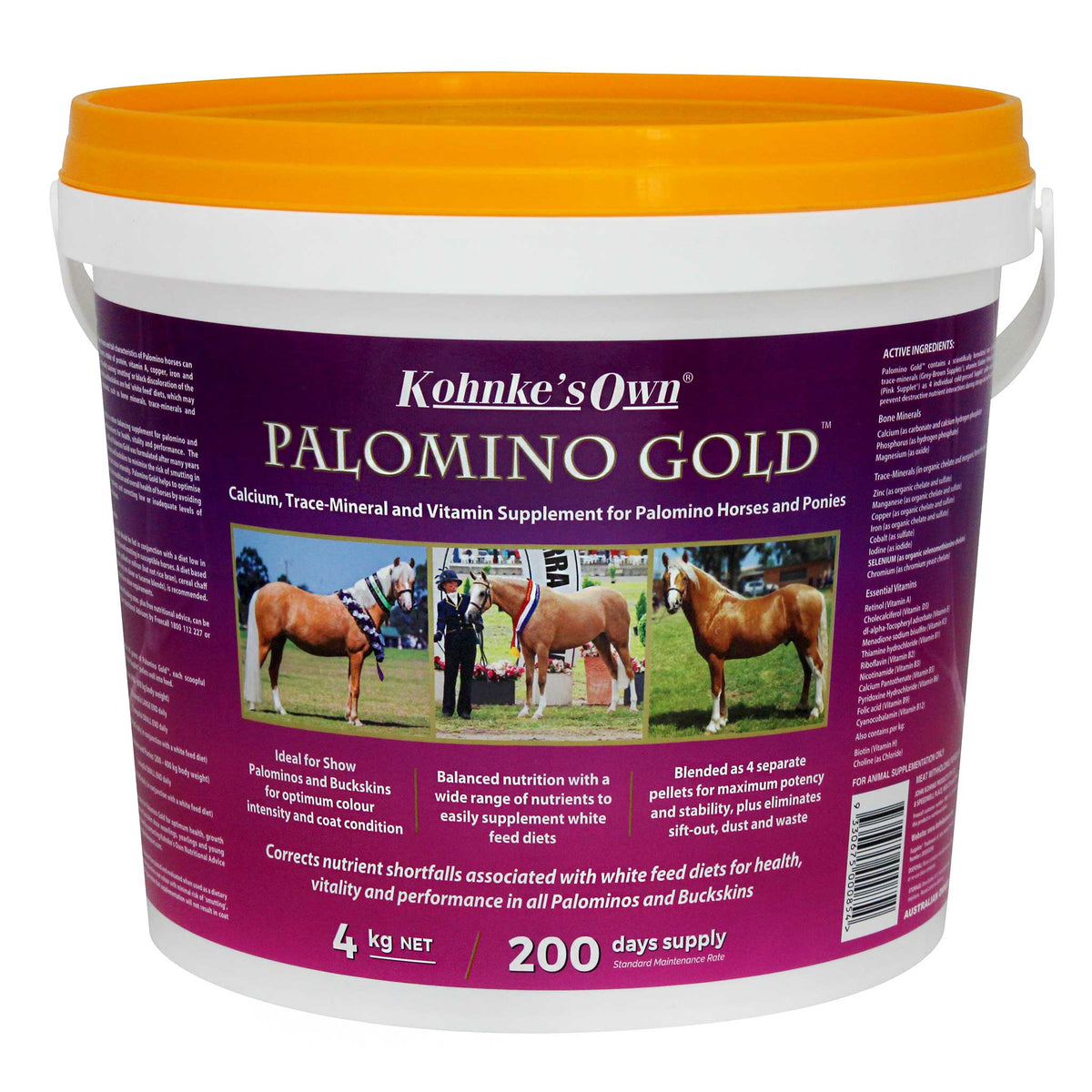Kohnke's Own Palomino Gold