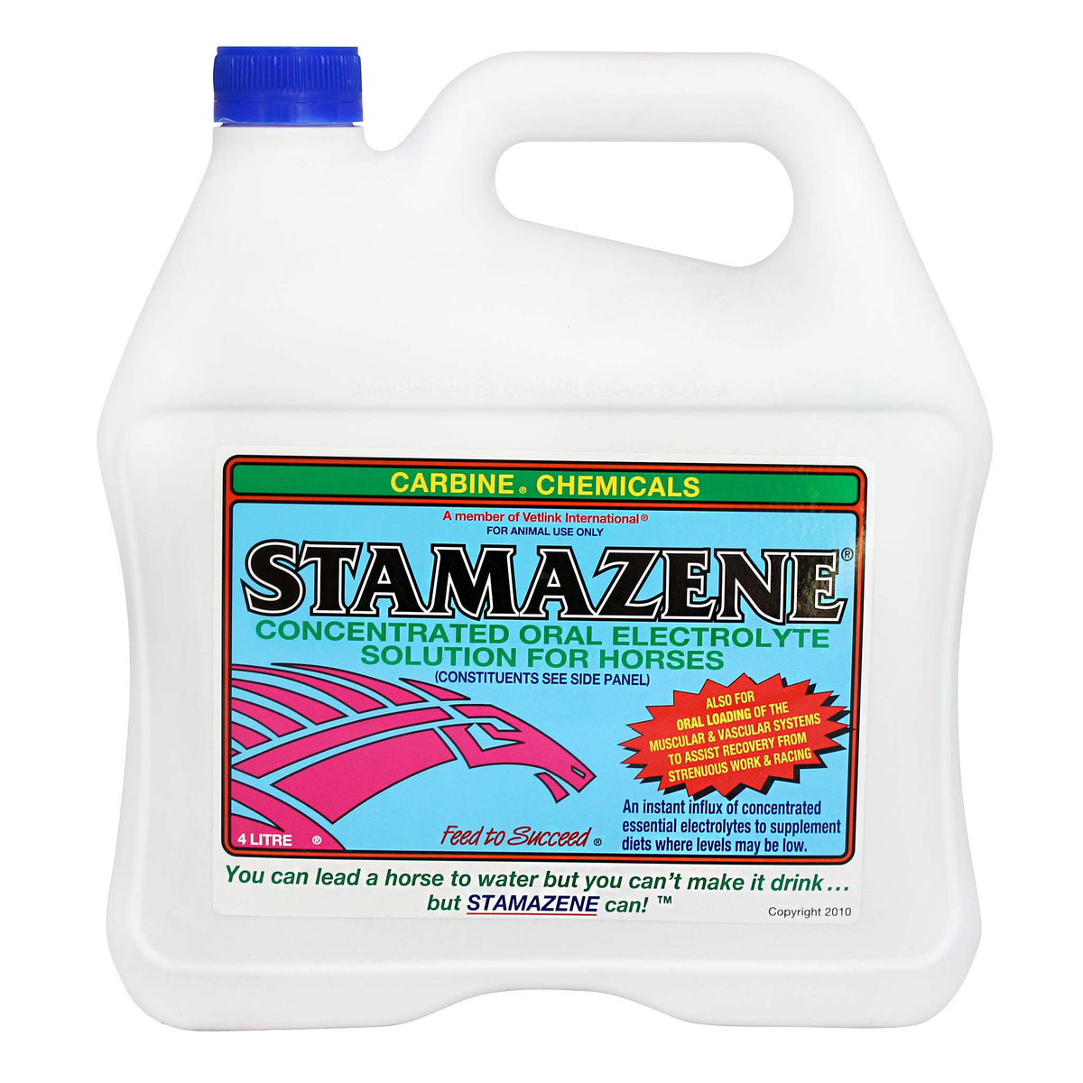 Carbine Stamazene Concentrated Oral Electrolyte for Horses
