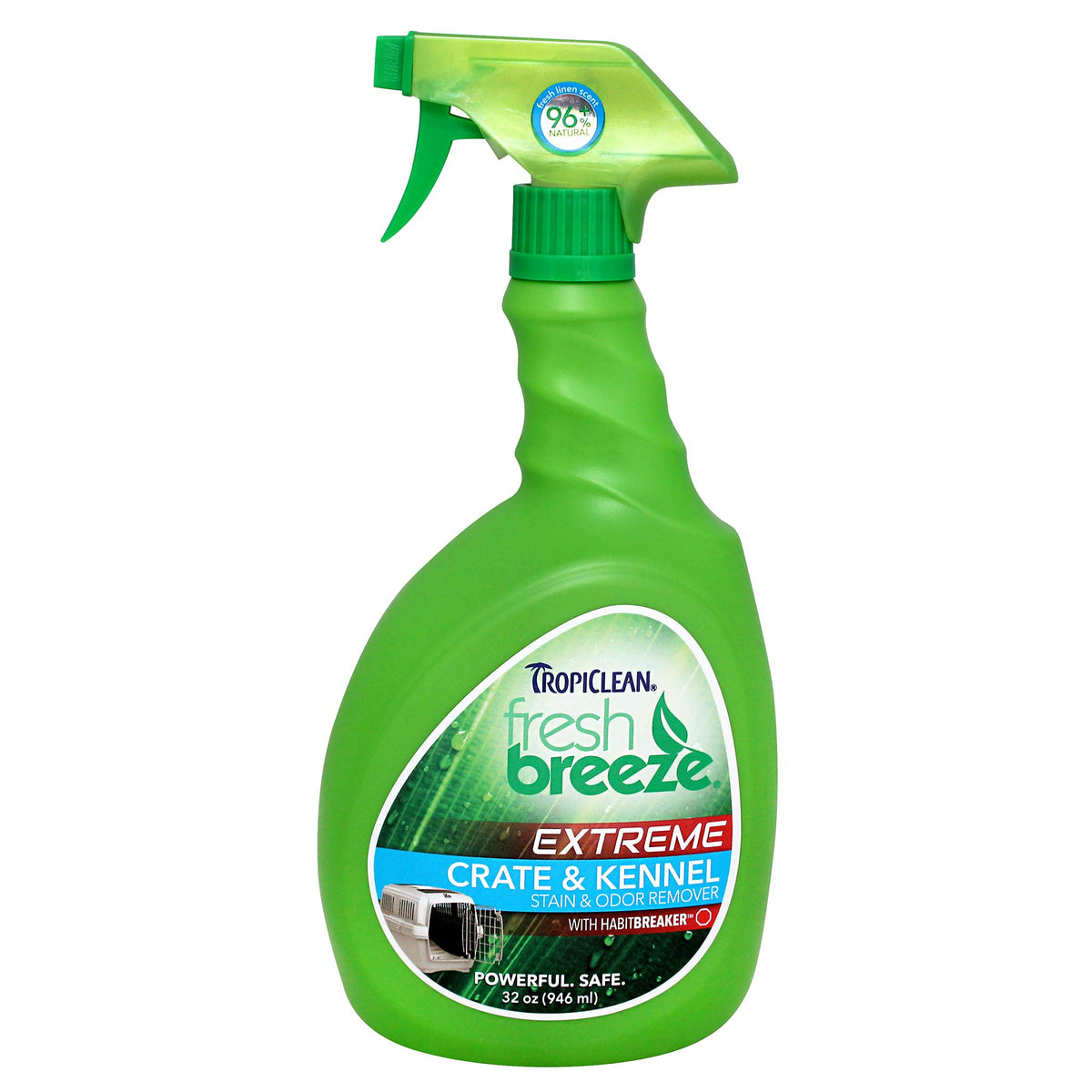 Tropiclean Extreme Crate & Kennel Stain & Odor Remover 946mL