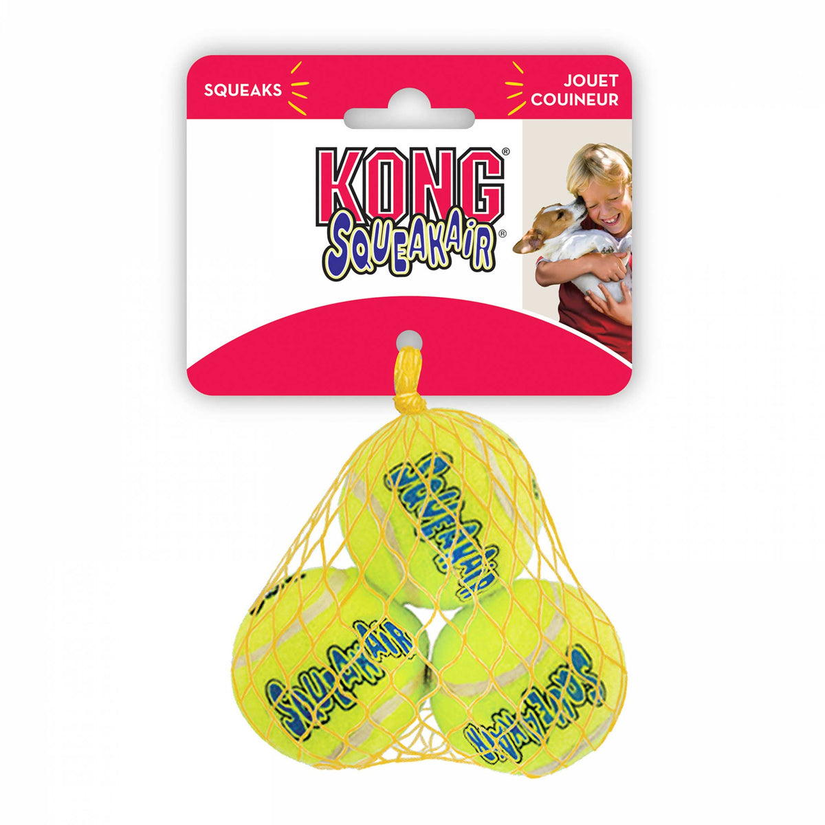 KONG Air Squeaker Balls for Dogs