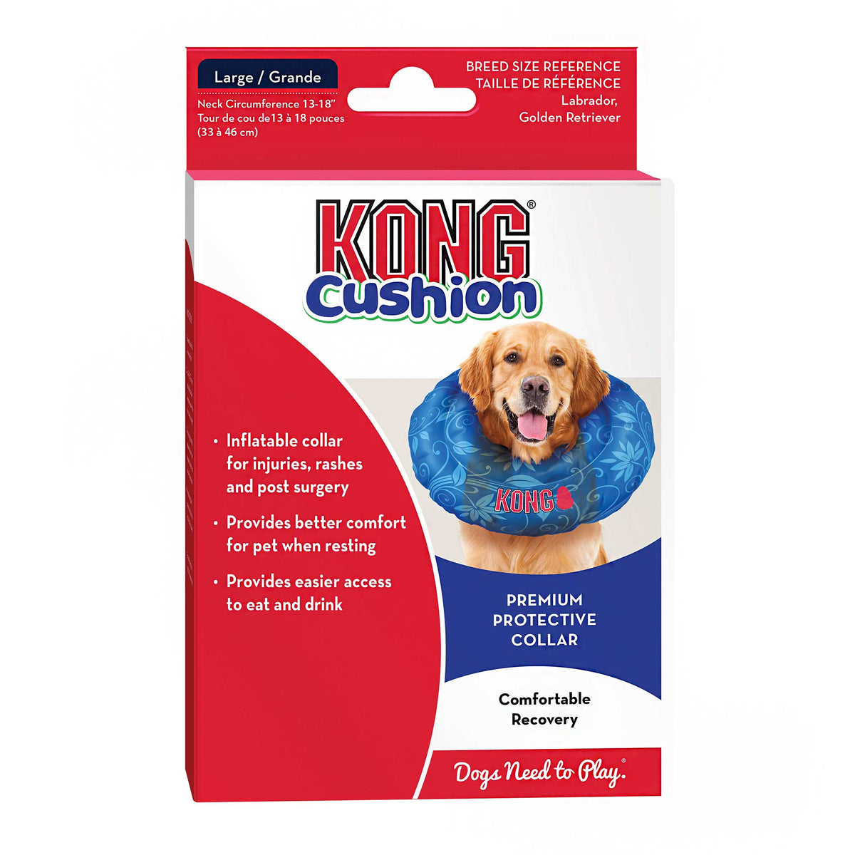 KONG Cushion Inflatable Recovery Collar