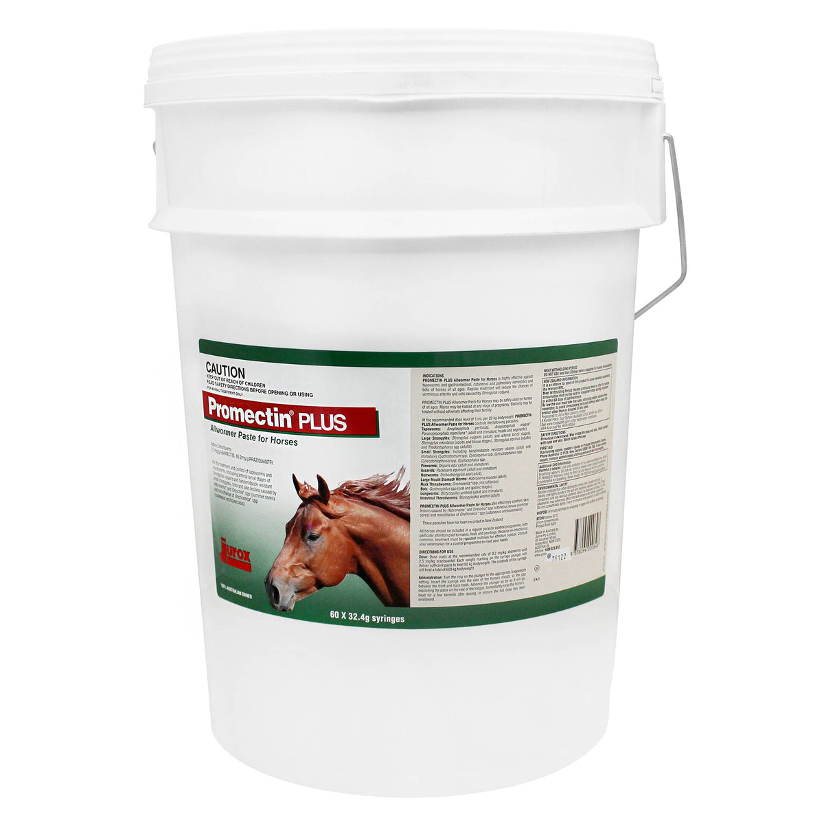 Promectin Plus Worming Paste for Horses - Stud Bucket 60 Tubes