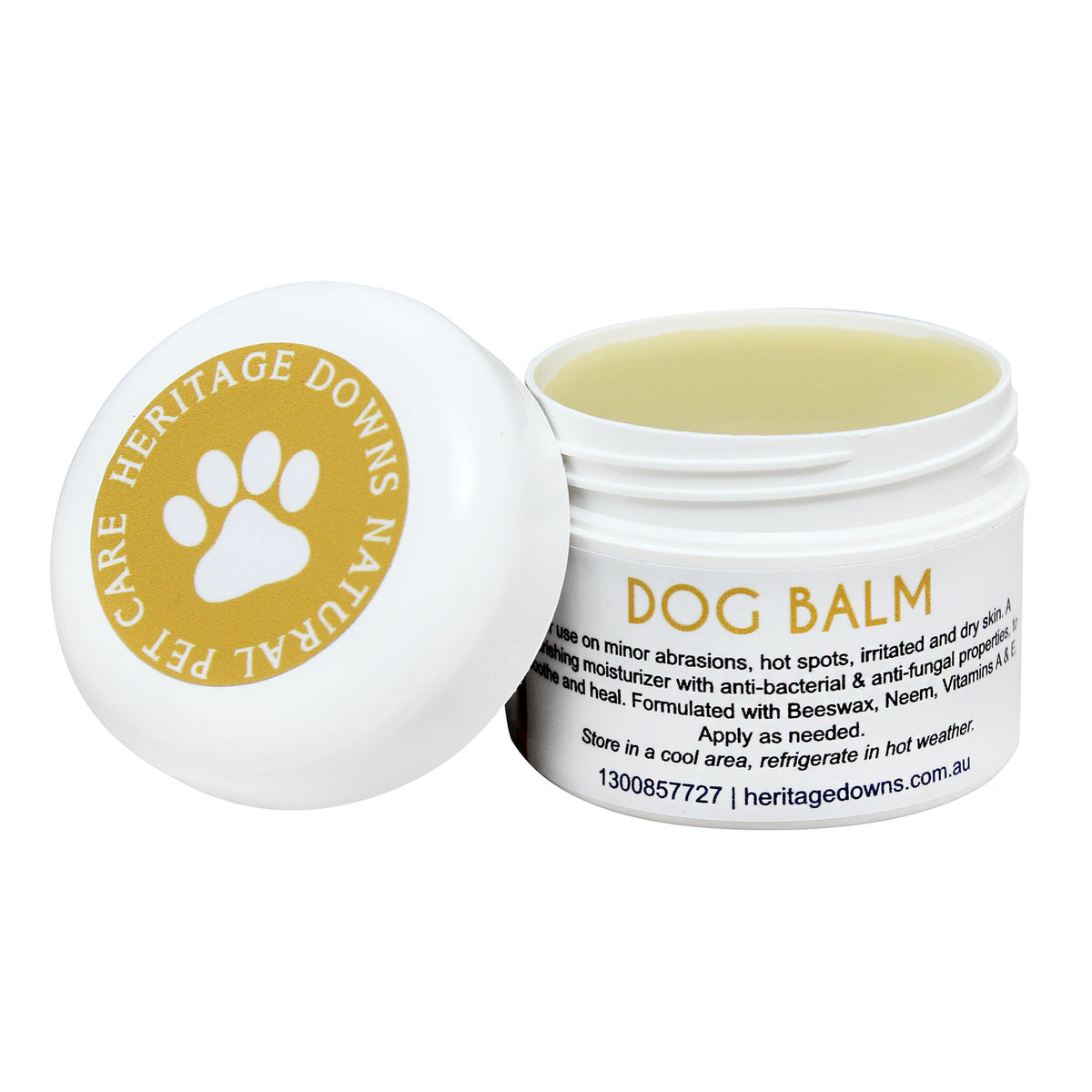 Heritage Downs Dog Paw Balm 50g