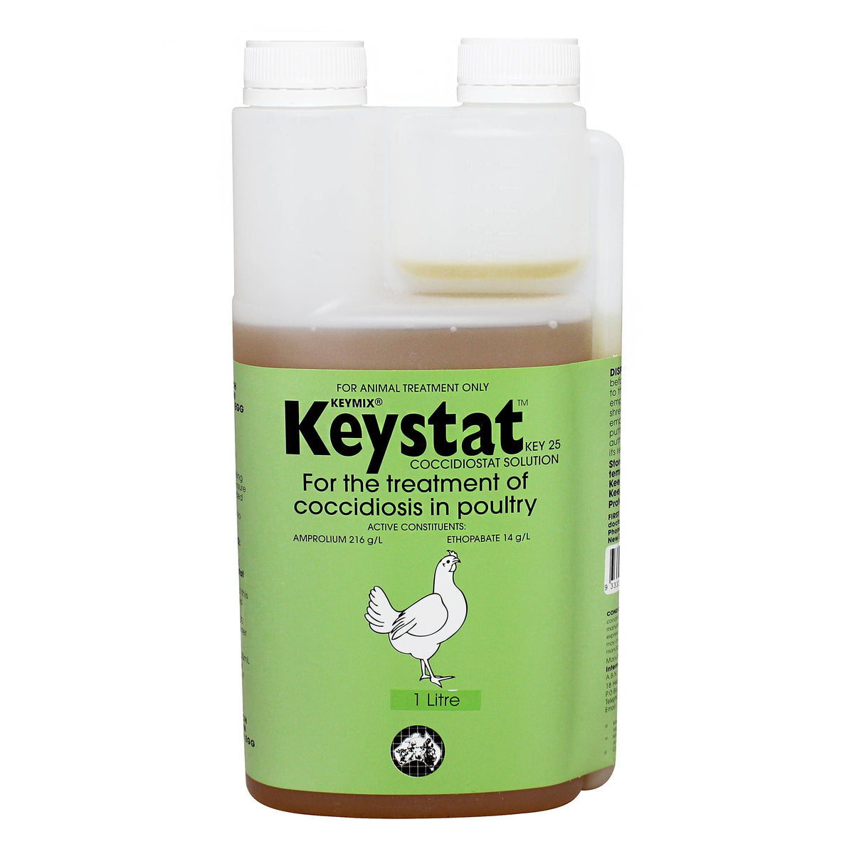 Keystat Coccidiosis Treatment for Poultry