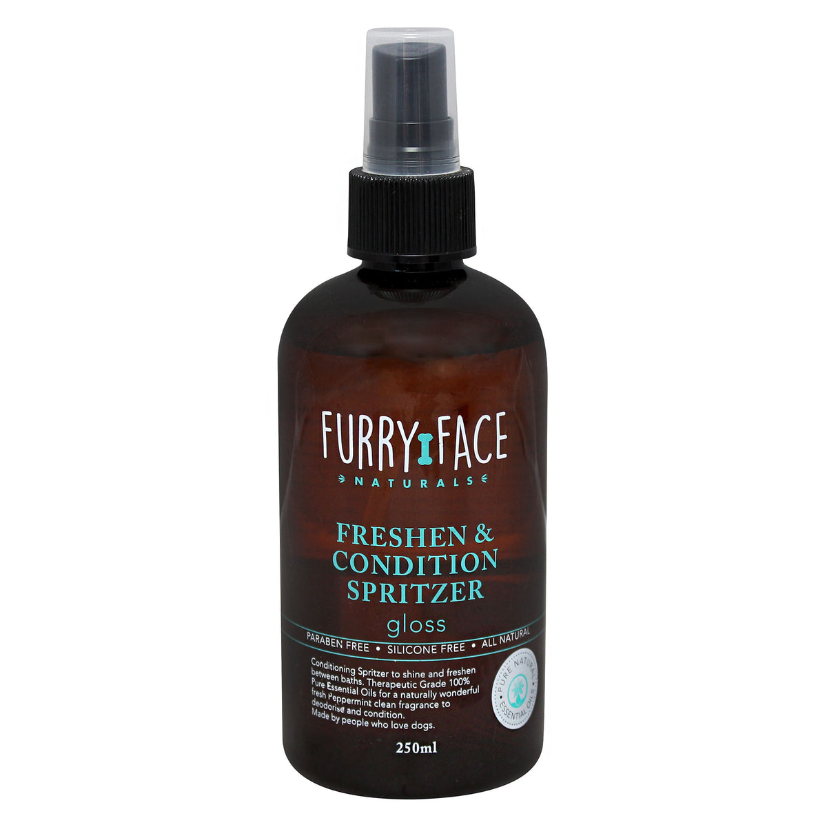 Furry Face Naturals Freshen Condition Spritzer - Gloss 250mL
