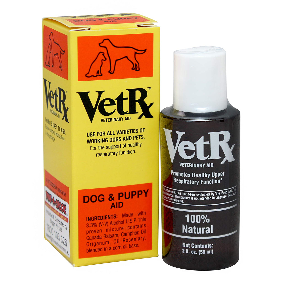 VetRx Dog & Puppy Aid for Sneezing Dogs & Puppies 59mL