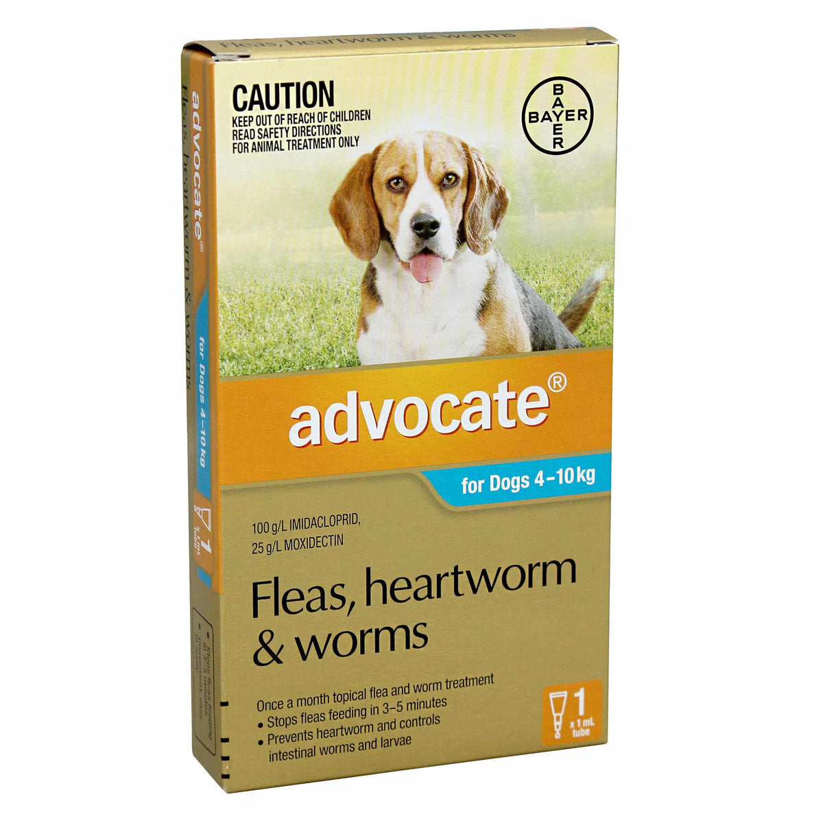 ADVOCATE for Medium Dogs 4-10kg