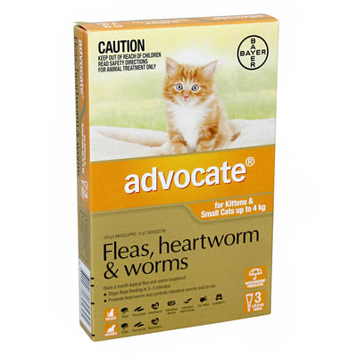 ADVOCATE for Small Cats 0-4kg