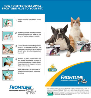Frontline Plus for Large Dogs 20 to 40kg (44-88lb)