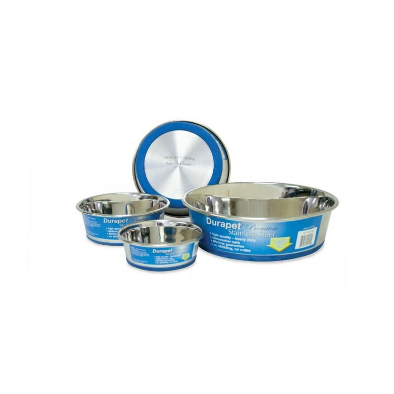 ZEEZ Durapet Premium Stainless Steel Pet Bowl