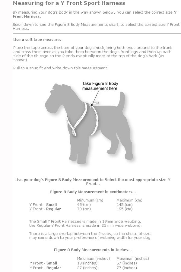 Black Dog Flyball Racing Harness Y-Front