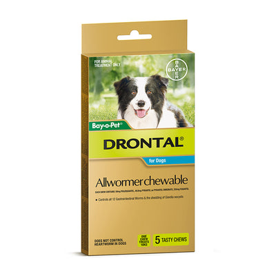 Drontal Allwormer Chewable (Bay-O-Pet)