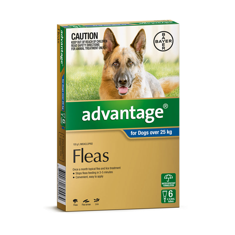 Advantage for Dogs Over 25kg