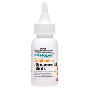 Aristopet Sulphadim Antibiotic for Birds 50mL