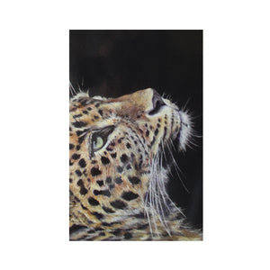 Wild Poppy Cheetah Greeting Card