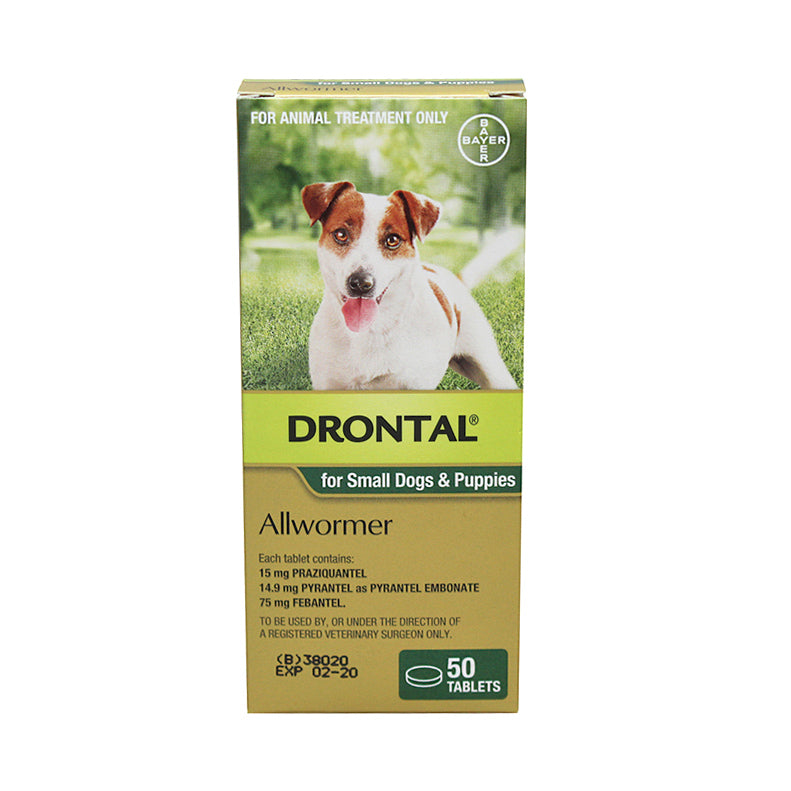 Drontal Allwormer Tablets for Dogs - Professional Pack