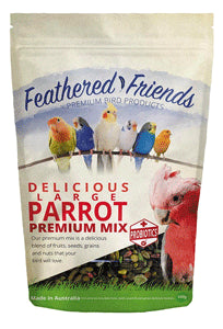 Feathered Friends Delicious Large Parrot Premium Mix