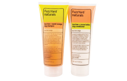 FuzzYard Naturals Tea Tree Shampoo or Conditioner 220mL