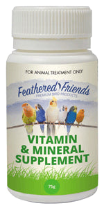 Feathered Friends Vitamin & Mineral Supplement 75g
