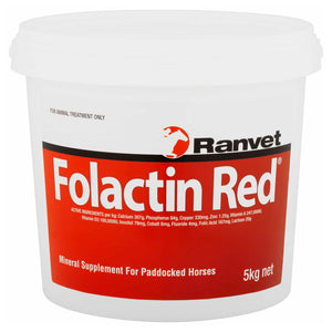 Folactin Red Mineral Supplement for Horses