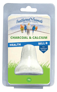 Feathered Friends Charcoal & Calcium Health Bell 50g