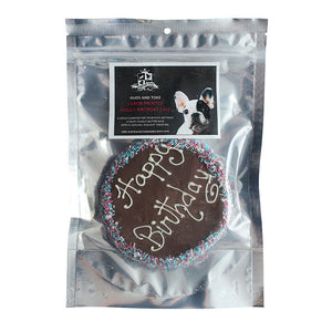 Huds & Toke Carob Frosted Doggy Birthday Cake - 12cm