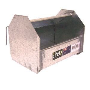 Hooded Poultry Trough