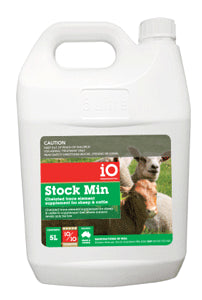 iO Stock Min Trace Element Supplement 20L