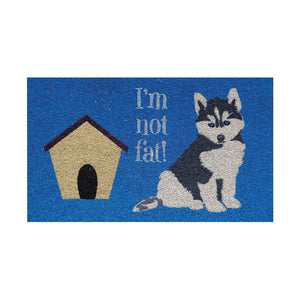 I'm not fat! - Door Mat