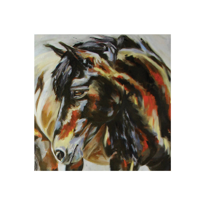 Wild Poppy Horse 1 Greeting Card