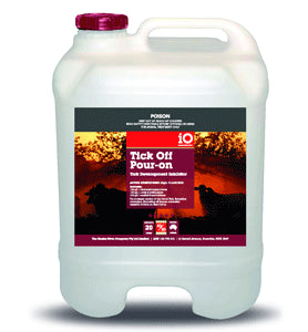iO Tick Off Pour-on Tick Development Inhibitor