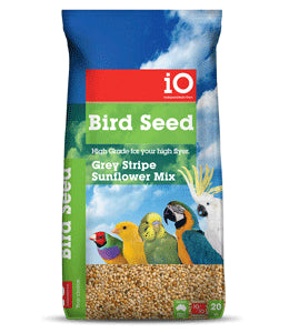 iO Grey Stripe Sunflower Mix 15kg