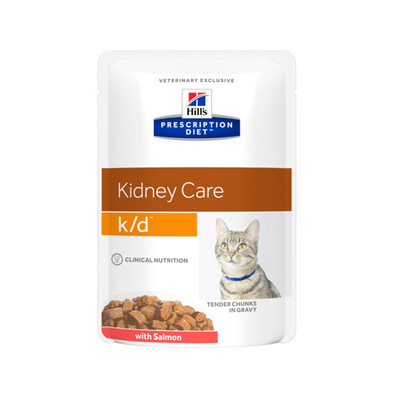 Hill's Prescription Diet Feline K/D Salmon 12 X 85g