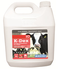 iO K-Dex Energy Supplement for Cattle