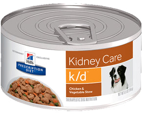 Hill's Prescription Diet Canine k/d Chicken & Vegetable Stew 156g x 24
