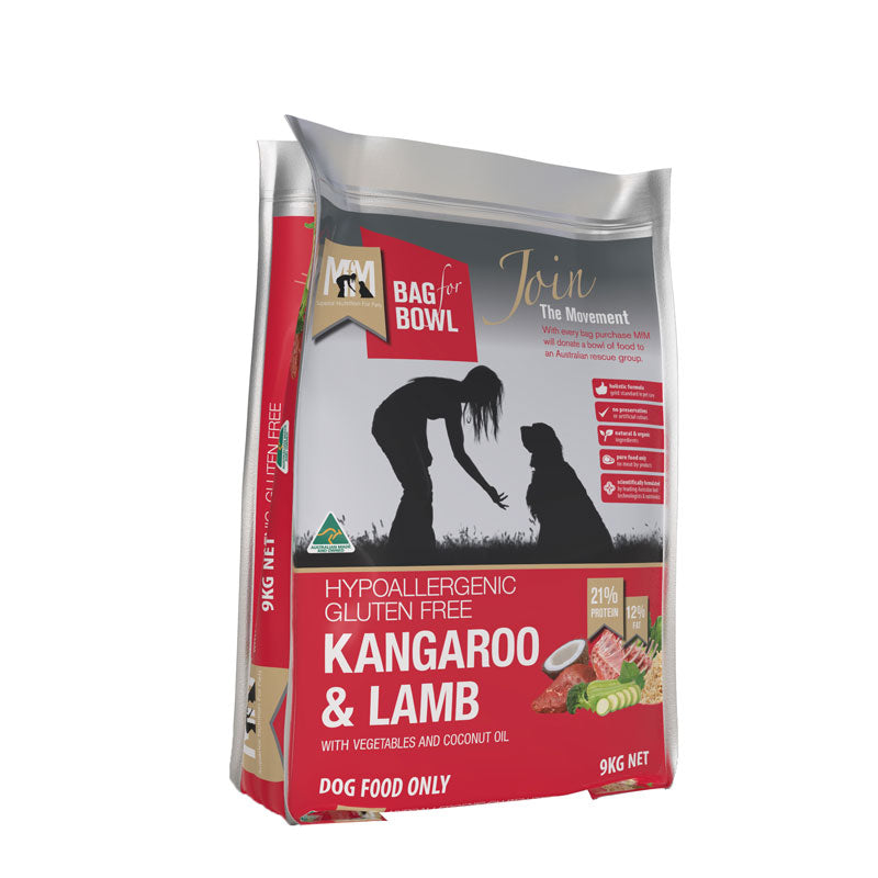 Meals For Mutts Kangaroo/Lamb Gluten Free Dog Food
